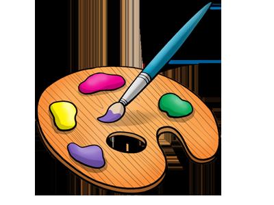 Måla och rita