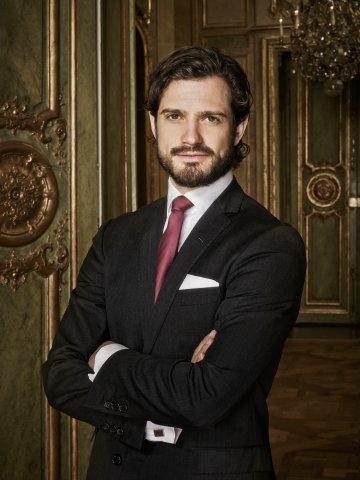 Sveriges Prins Carl Philip.