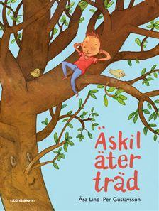 Äskil äter träd av Åsa Lind