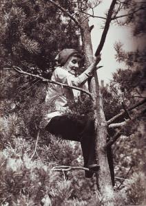 Astrid Lindgren gillade att klättra i träd.