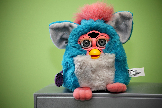 En Furby FOTO: Amanda https://creativecommons.org/licenses/by-nd/2.0/