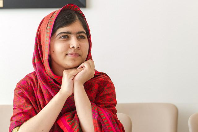 Malala fick fredspriset förra året.