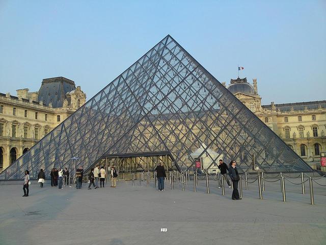 Louvren i Paris Foto: Ulf Liljankoski