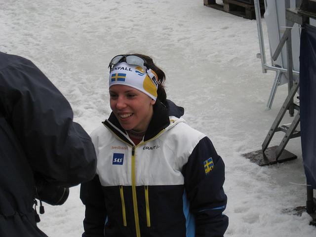 Charlotte Kalla var en av de som vann Bragdguldet 2014. Foto: Peter Krefting