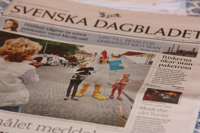 Dagstidningen Svenska Dagbladet delar varje år ut Bragdguldet.