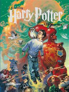 Harry Potter och de vises sten var fösta boken i serien.