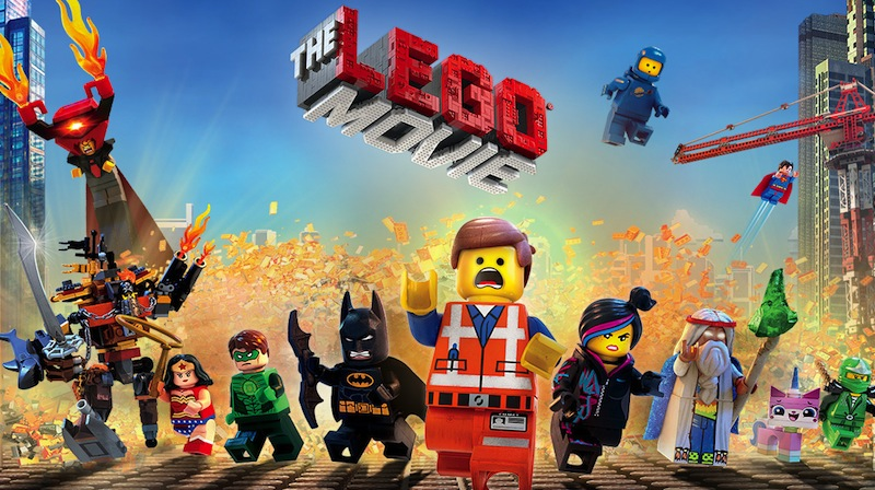 2014 hade Lego-filmen premiär. Foto: Lego.