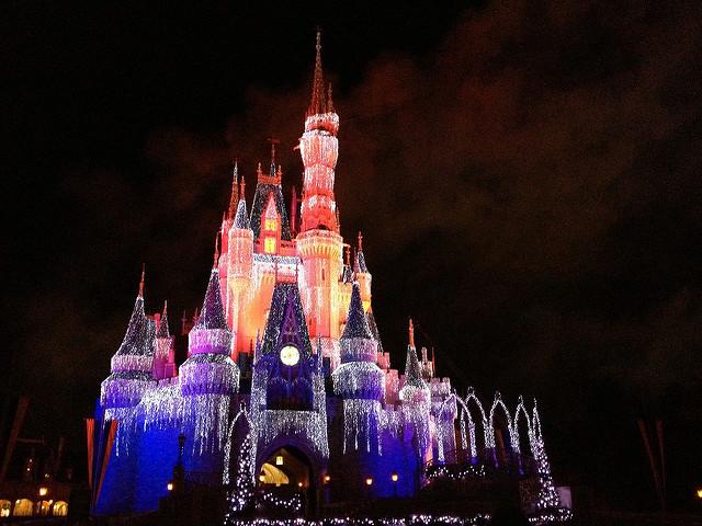 Det första Disney world öppnade 1971.