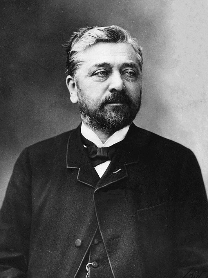 Gustave Eiffel var mannen bakom Eiffeltornet.