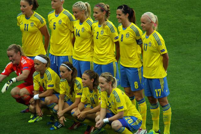 svenska landslaget i fotboll