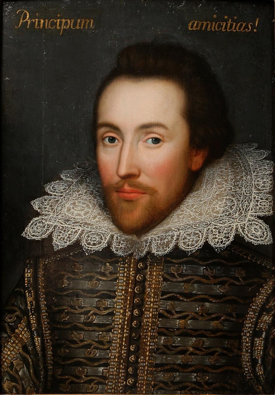 William Shakespeare föddes 1564.
