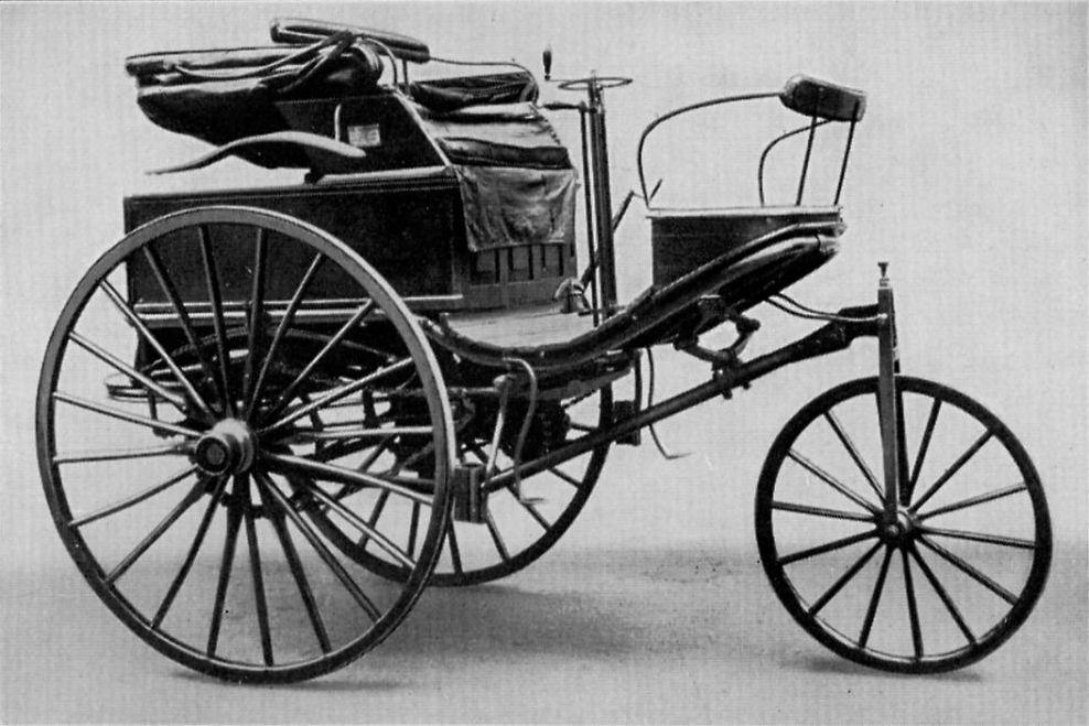 Carl Benz första bil.