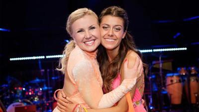 Let's dance avgörs ikväll. Bianca Ingrosso och Elisa Lindström gör upp i finalen. Foto: TV4.