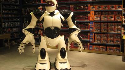 En robot ska lära ut buddhism i Kina. (Det är inte samma robot som på bilden).