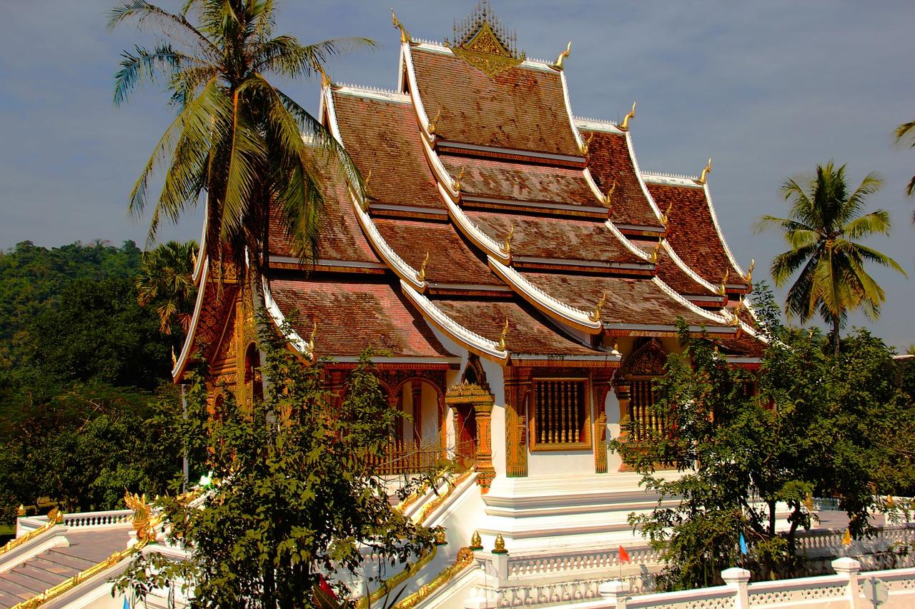 Ett buddhistiskt tempel.