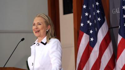 Hillary Clinton är storfavorit inför valet i USA.