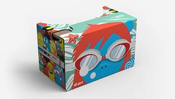 Så här ser VR-glasögonen ut.