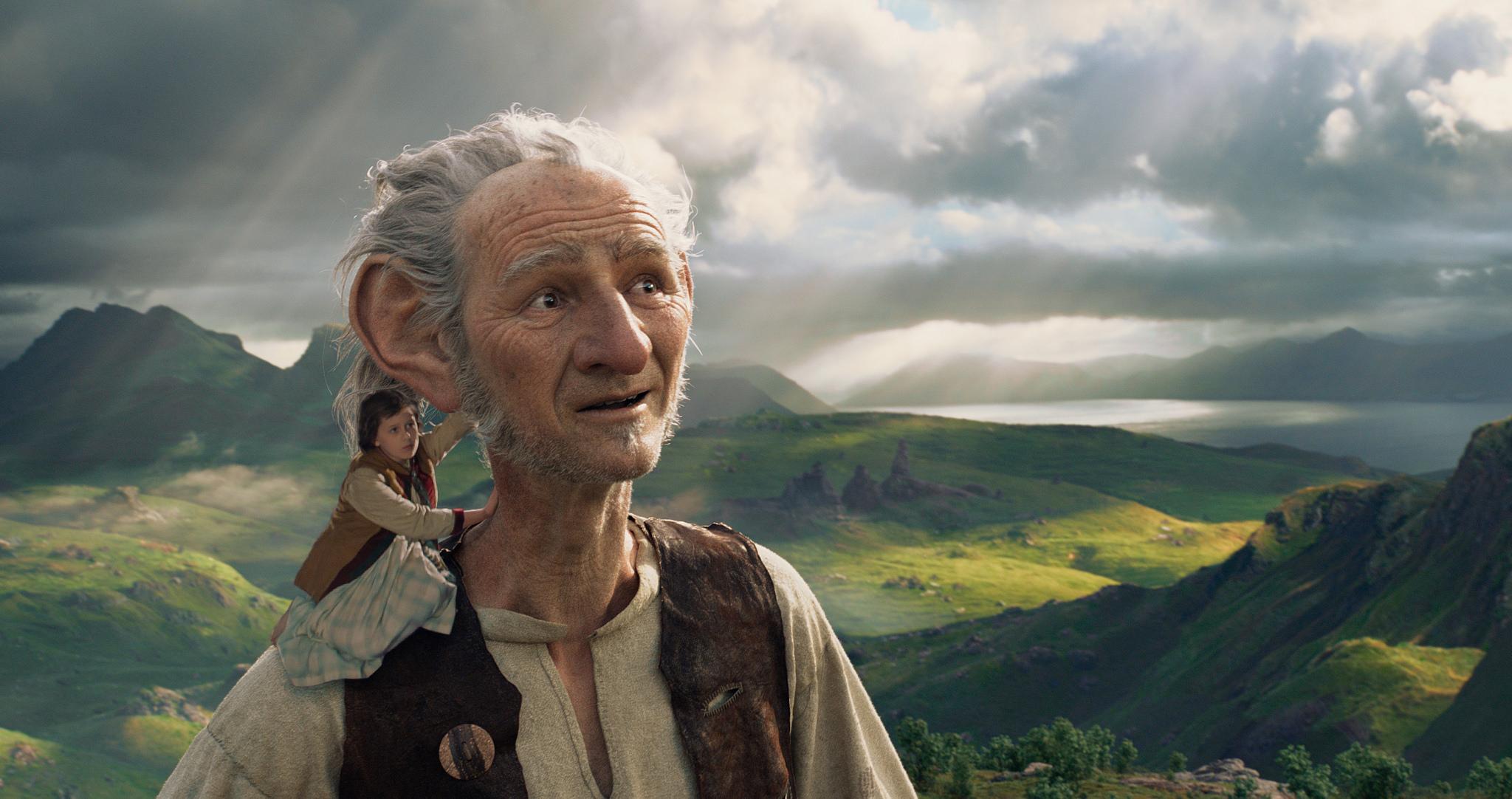 Stora vänliga jätten är en av Roald Dahls böcker. Den kom som film i år.