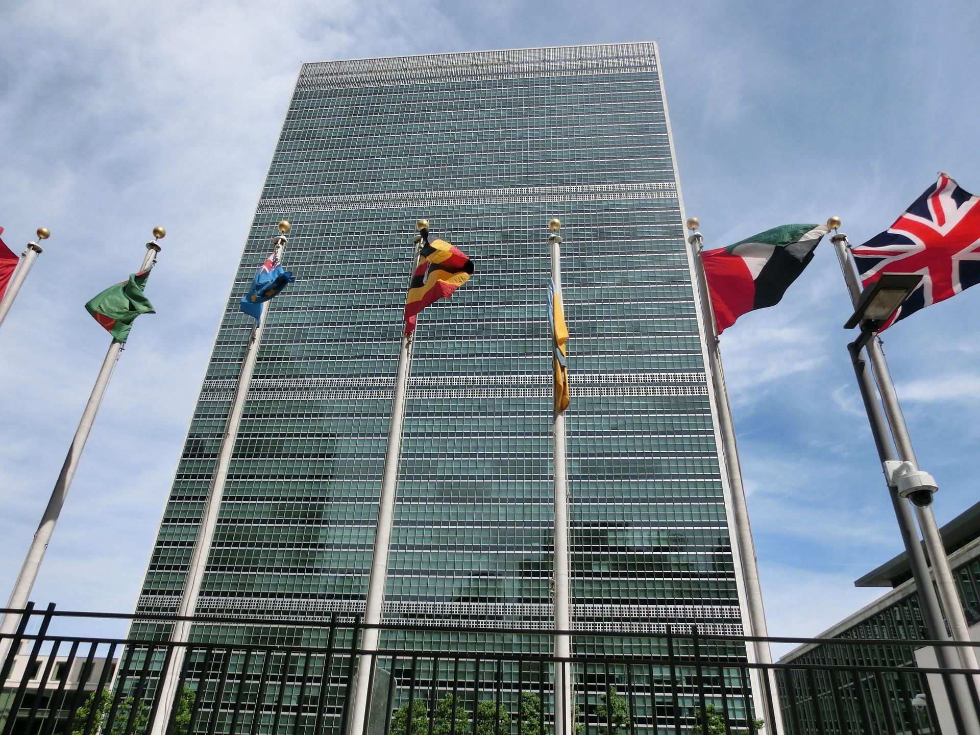 FN:s högkvarter ligger i New York.