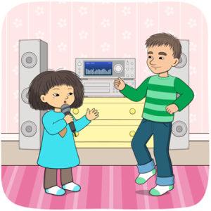 Vi har dansat och hoppat sjungit tillsammans