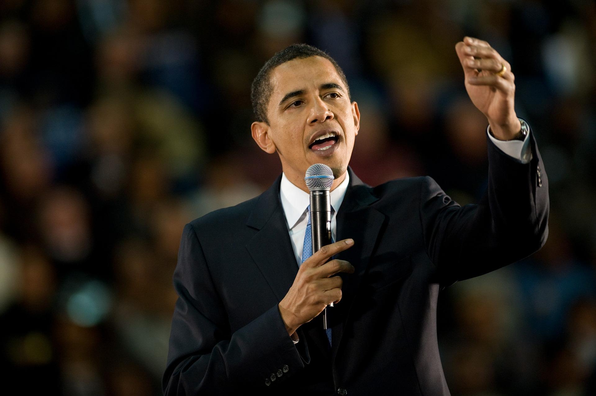 Barack Obama är USA:s 44:e president. Han var också den första svarta presidenten.