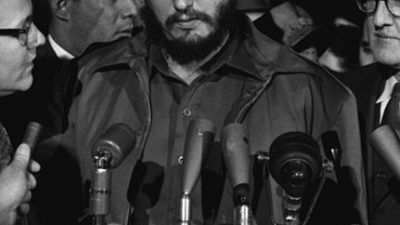 I helgen dog Kubas ledare Fidel Castro. Foto:  Library of Congress's Prints and Photographs division, United States.