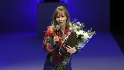 Ann-Helén Laestadius vann Augustpriset för sin bok om det som händer i Kiruna. Foto: Sören Andersson.