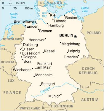 tysklands karta Tysklands ledare i Sverige | MiniBladet NWT tysklands karta