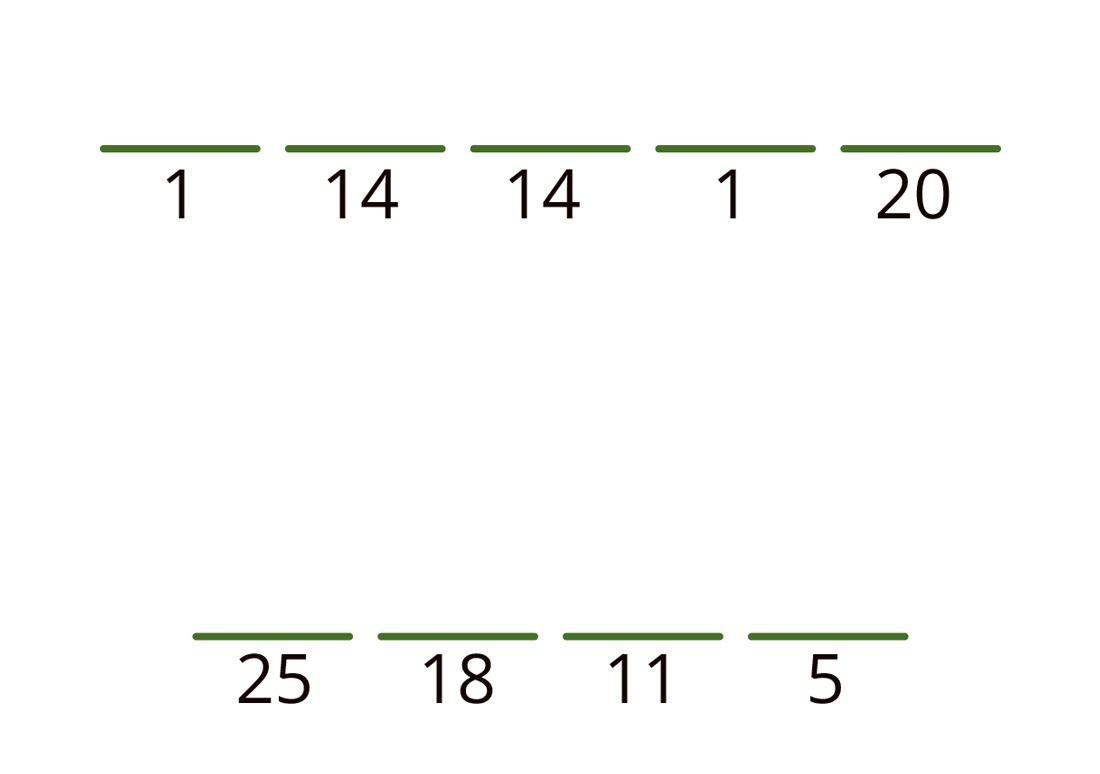 1 14 14 1 20 nytt ord 25 18 11 5