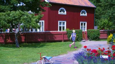 Hus från Astrid Lindgrens värld.