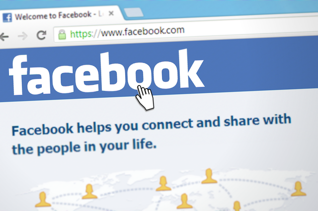 Facebooks hemsida