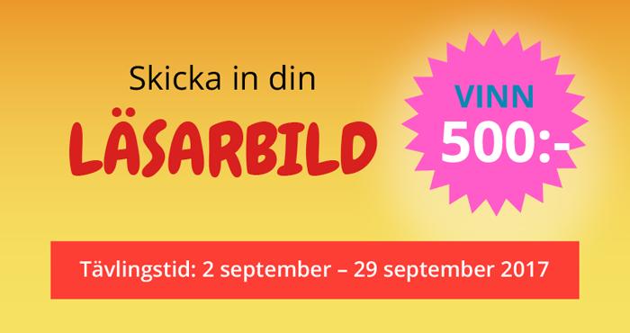 Skicka in din läsarbild. Vinn 500 kronor. Tävlingstid 2 september - 29 september 2017