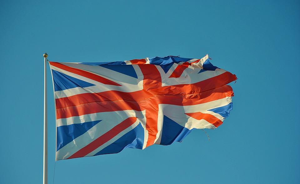 Storbritanniens flagga.