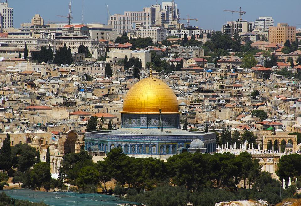 En moské i Jerusalem.