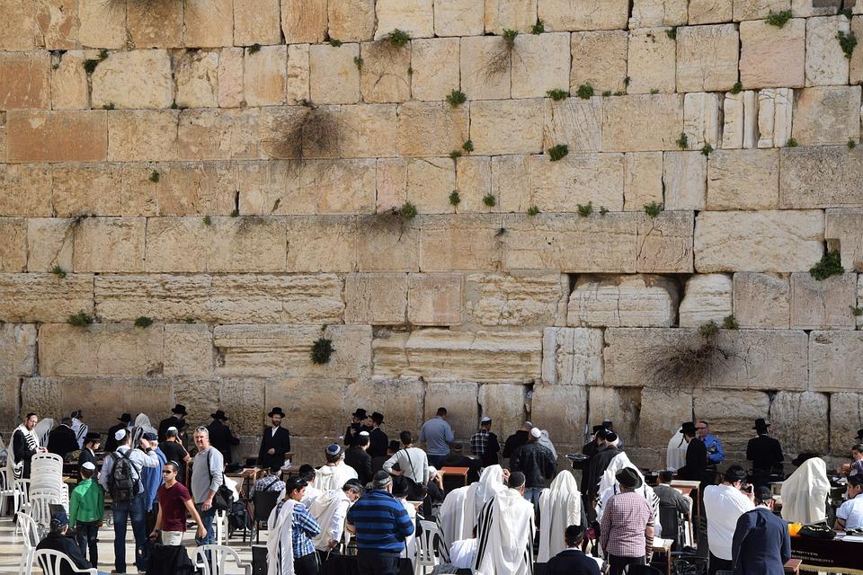 Klagomuren i Jerusalem.