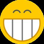 En glad emoji