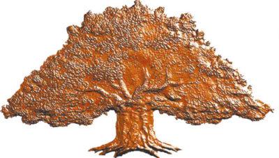 Ett brunt träd
