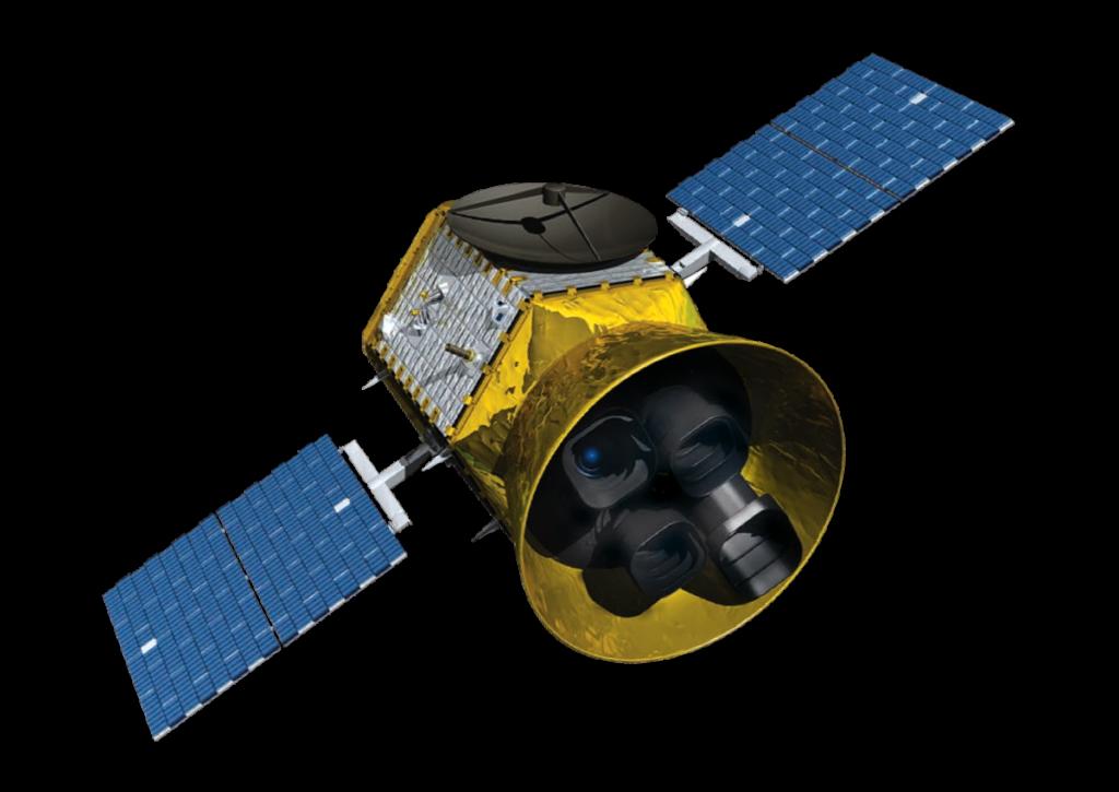 En bild på rymdteleskopet Tess