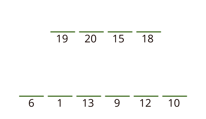 19 20 15 18 nytt ord 6 1 13 9 12 10