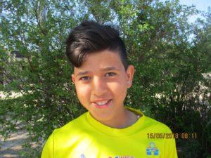 Porträttfoto på Ayoob.