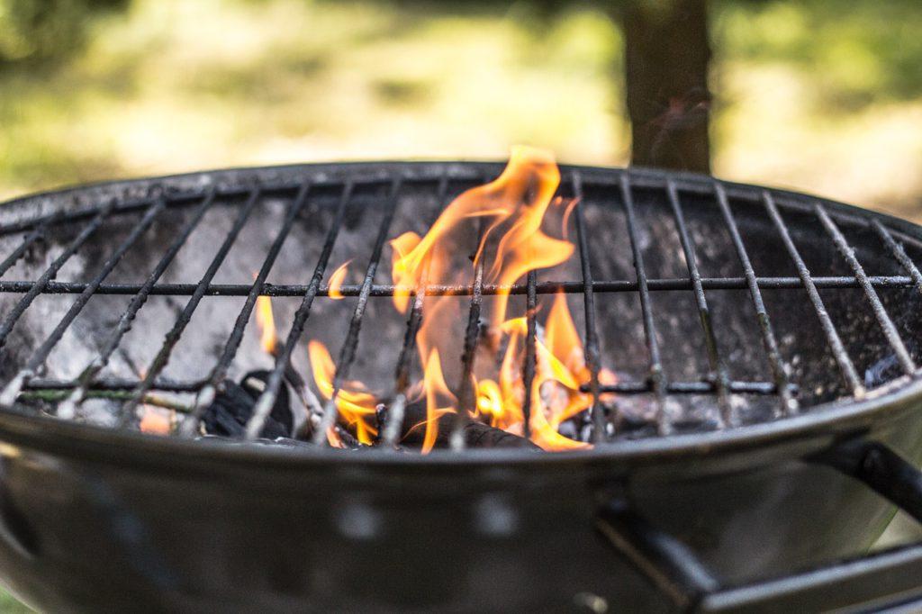 En grill
