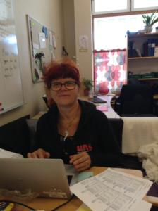 Inger Björk som jobbar på Fröet.
