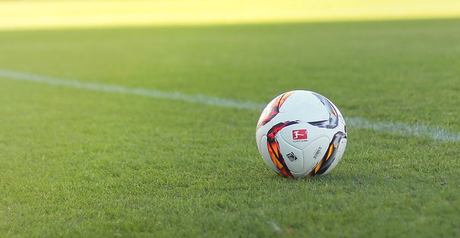 En fotboll.