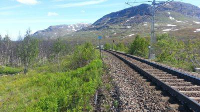 Ett åtgspår genom Norrland