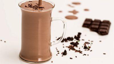 En kopp chokladmjölk