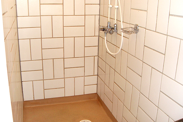Foto på en dusch