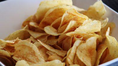 Chips i en skål