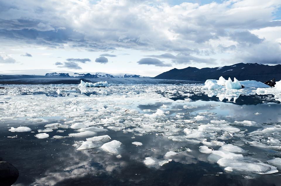 Arktis is i vattnet