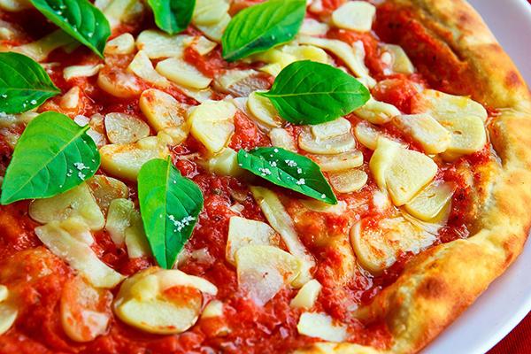 Foto på pizza