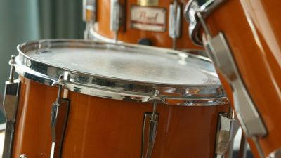 Foto på trummor.